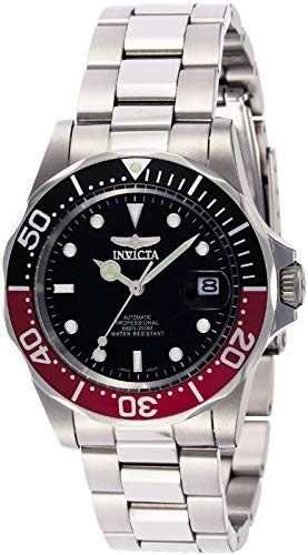 Invicta Men's Automatic Professional Diver S2 Black Dial Magnified Date Watch 9403