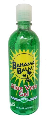 Bahama Balm 16oz Aloe Vera Gel After Sun Skin Care
