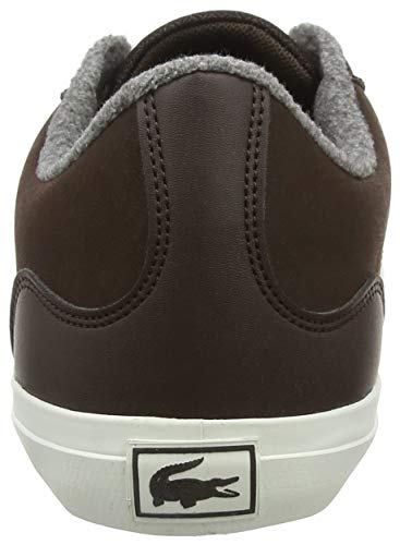 2e2 2 Lerond Cam Marrone Brw 318 Brw Lacoste Dk Uomo Sneaker TPOvax