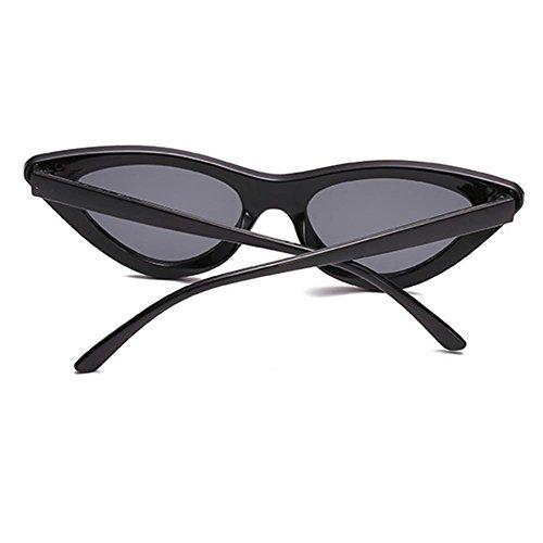 Gafas de sol Box de transparentes Gafas Small New Eye sol C7 de Triangle Juleya Gafas Cat sol fqx0TwY