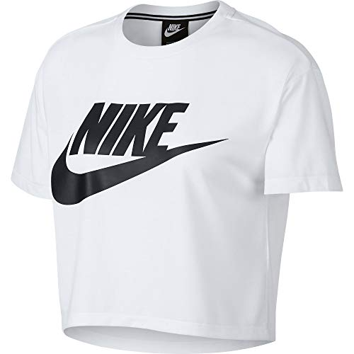 Nike Nero T Bianco Essential Donna Sportswear Shirt 0Bp0aw