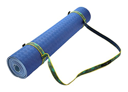Hugger Mugger Modern Simple Sling Strap for Yoga Mat Teal