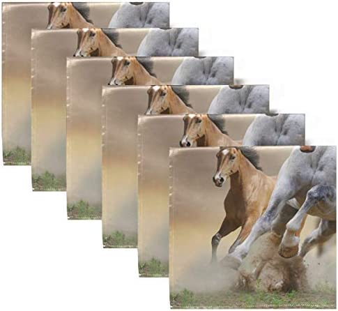 20 Napkins WILD HORSES WILD HORSES Animal Print Napkins Serviettes technology