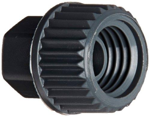 Legris 0110 04 00 70 Plastic Compression Tube Fitting, Nut, For 4 mm Tube OD x M8x1 Thread, 8 mm Hex Siz, 13 mm Length