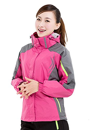 LANBAOSI Women's Ski Snowboarding Jacket Winter Warm Hiking Outerwear Coat