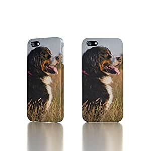 Apple iPhone 5 / 5S Case - The Best 3D Full Wrap iPhone Case - Bernese Mountain Dog