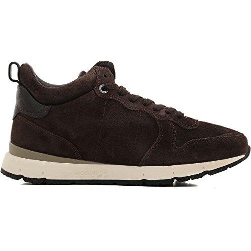 Ai 9 New Casual 201718 W1002311 Woolrich Uomo Pelle Sneakers 42 Scarpe Originale qTxwA0v