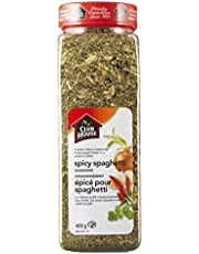 Club House, Quality Natural Herbs & Spices, Spicy Spaghetti Seasoning, 405g
