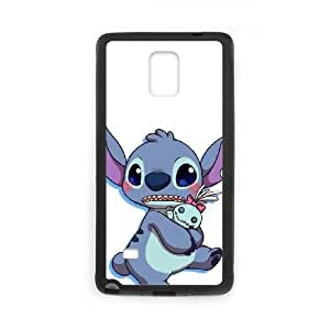 SamSung Galaxy Note4 phone cases Black Lilo &amp Stitch cell phone cases Beautiful gifts TRIJ2774995