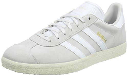 adidas Men Gazelle Trainers White (Crystal White/Footwear White/Cream White)