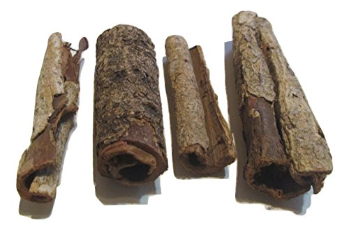 Organic Catappa Bark (5 Pieces) - Indian Almond Bark Aquarium Decor for Shrimp and Fish Tanks by Aqua Emporium