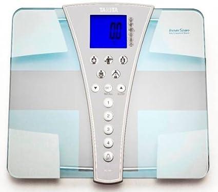 Tanita 587 Báscula electrónica personal color blanco – Báscula de baño (LCD, color blanco