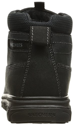 Skechers USA Mens Resment Rialto Chukka Boot Black