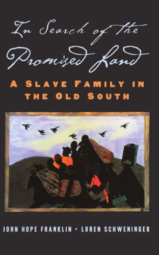 Books : In Search of the Promised Land: A Slave Family in the Old South (New Narratives in American History)