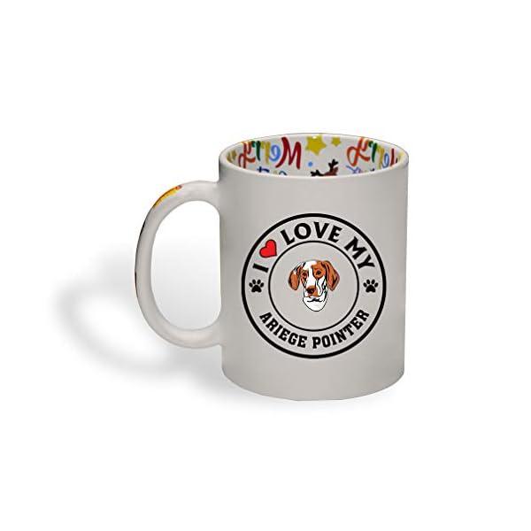 Ceramic Christmas Coffee Mug I Love My Ariege Pointer Dog Style A Funny Tea Cup 1