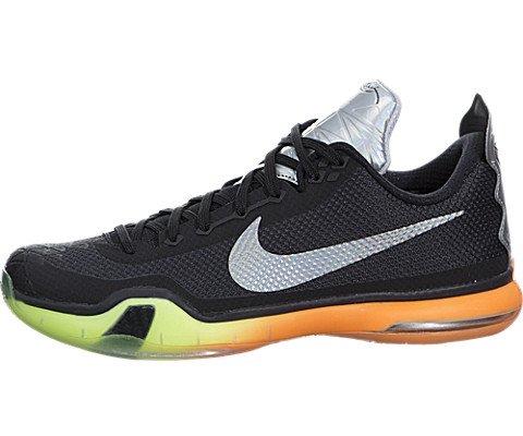 more photos f1e44 31565 Galleon - NIKE Men s Kobe X Basketball Shoe (8, Black Multi Color Volt)