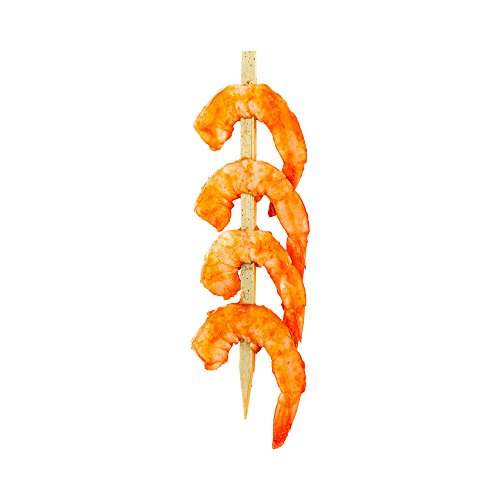 Bamboo Spear, Food Spear, Skewer Spear - 6'' - Great for Shrimp and Kabobs - 1000ct Box - Restaurantware by Restaurantware