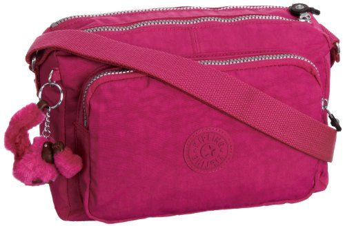 Kipling Body Warm 27x17x15 cm Verry T Bag Womens Pink B Grey H x Berry Reth Cross Grau rt1Sqrw