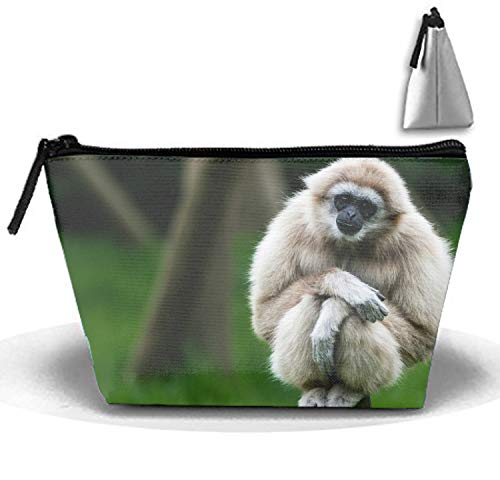 - Gibbons Animals Apes Portable Beauty Cosmetic Bag Hanging Storage Sewing Kit