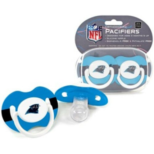 Amazon.com: BSS – Carolina Panthers Nfl bebé chupetes (2 ...