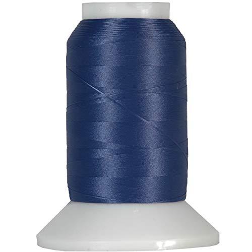 Threadart Wooly Nylon Thread - 1000m Spools - Color 9119 - DK Periwinkle - 50 Colors ()