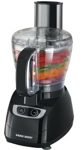 Black Decker 8 Cup Food Processor  Black  Fp1700b