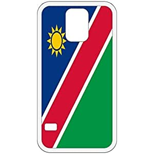 Namibia Flag White Samsung Galaxy S5 Cell Phone Case - Cover