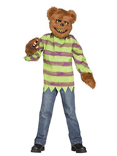 Fun World Little Boy's Killer Bear Costume Childrens Costume, Multi, -