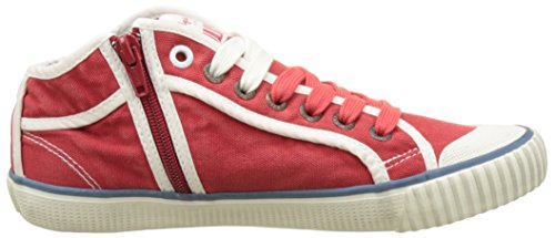 Sneakers 17 Pepe Rouge Hot red Femme Jeans Basses Industry Basic vFIqHIBn