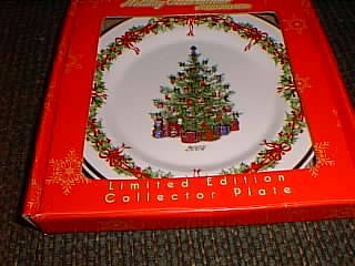 Christopher Radko Limited Edition Christmas Collector Plate Dated 2004