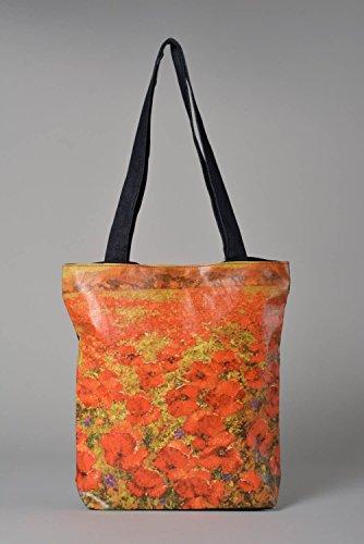 Bolso de tela hecho a mano accesorio de mujer regalo original para amiga