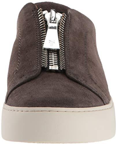 Frye Lena Sneaker Mule Women's Grigio Zip qrTqUnafz