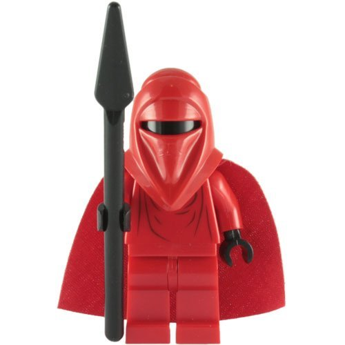 LEGO Star Wars LOOSE Mini Figure Imperial Royal Guard with Force Pike]()