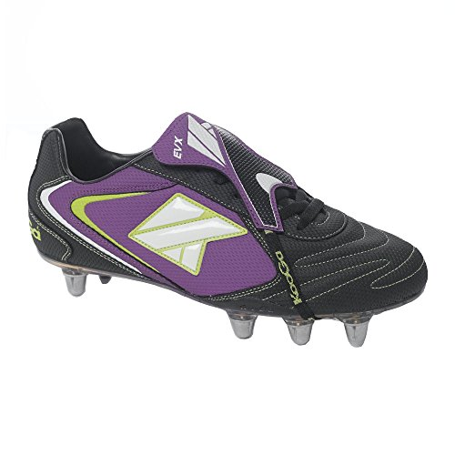 KOOGA EVX II orteils souple Coupe basse Rugby de coffre [Violet]