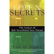 Open Secrets: The Letters of Reb Yerachmiel ben Yisrael