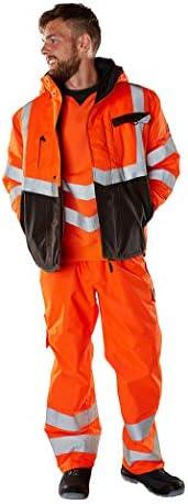 Mascot Wigton Warnschutz Sweatshirt 50126-932 - Safe Supreme Herren 4XL Hi-Vis Orange/Dunkelanthrazit