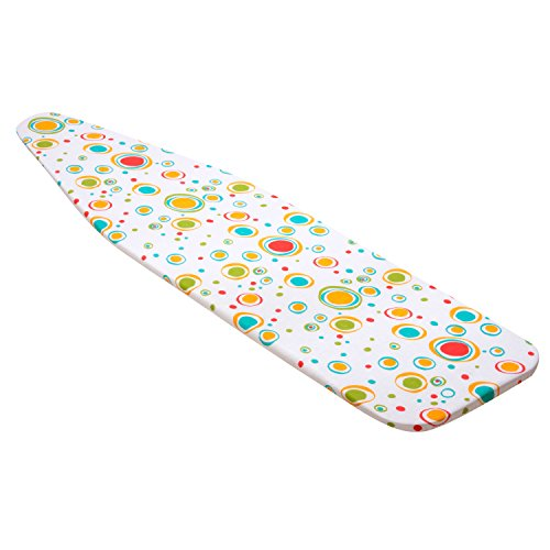 Honey-Can-Do IBC-03040 Superior Ironing Board Cover, Colorful Dots by Honey-Can-Do
