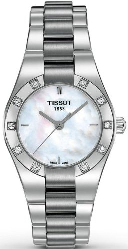 Tissot Glam Sport Mother Of Pearl Ladies Watch T043.010.61.111.00
