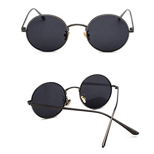De De Marco GUOHONGCX El Las Que Gafas del Marinero De Colorido Sol De del Marco C Punky Redondas Modelos Protector Gafas Retros Cega De Sol Ciclo Metal Sol E Gafas Femeninos Ocasional gYXwYqr6