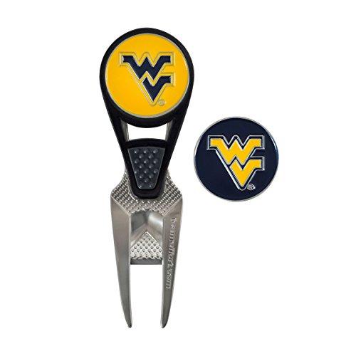 Team Effort West Virginia Mountaineers Cvx Ball Mark Repair Tool