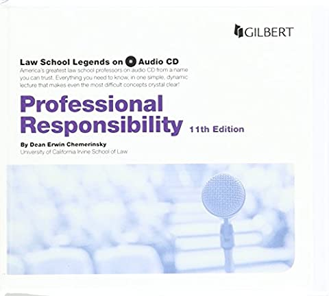 Law School Legends Audio on Professional Responsibility (Law School Legends Audio Series) (Legend Audio)