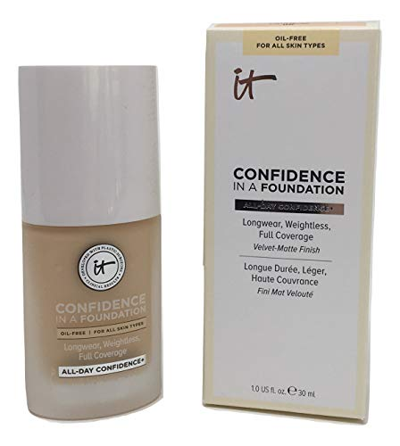 IT Cosmetics Confidence in a Foundation, Light Nude