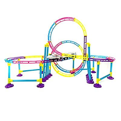High Speed Roller Coaster Bullet Train Toy Building Set by eForCity that we recomend individually.