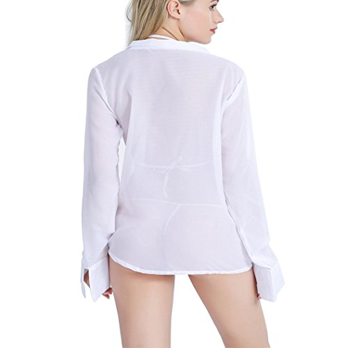 42b9d28483 Amazon.com  WisLotife Sexy Sleepshirt