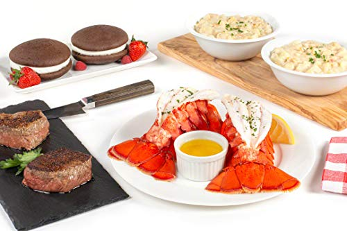 Maine Lobster Now: Surf & Turf Tail Dinner (Best Maine Lobster Delivery)