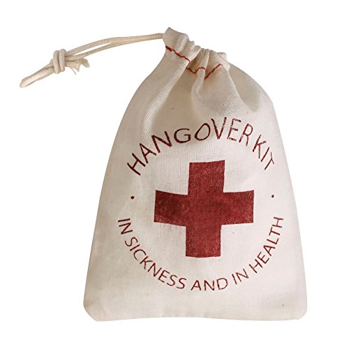 Ling's moment 10pcs 4 x 6 Inch Hangover Kit Bags for Bachelorette Party Aid Bags Bridesmaid Gifts Bags Destination Wedding Welcome Bags