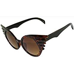 Cat Eye Sunglasses with Bat Wings!