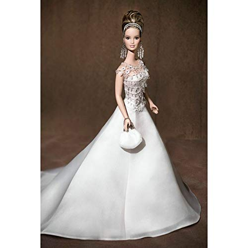Barbie Badgley Mischka Bride Doll Collectible Limited Edition Golde Label