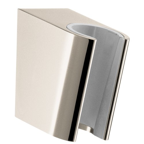Hansgrohe 28331830 S Porter, Polished Nickel - Hansgrohe Porter E Holder
