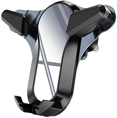車載ホルダー 1に付き3つ 車ブラケット 電話ホールダー 充電器 付属品 空気出口 運行ブラケット L.P.L (Color : グレー, Size : フリー)